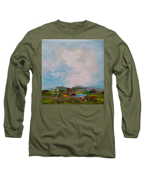 Farmland II Long Sleeve T-Shirt by Judith Rhue