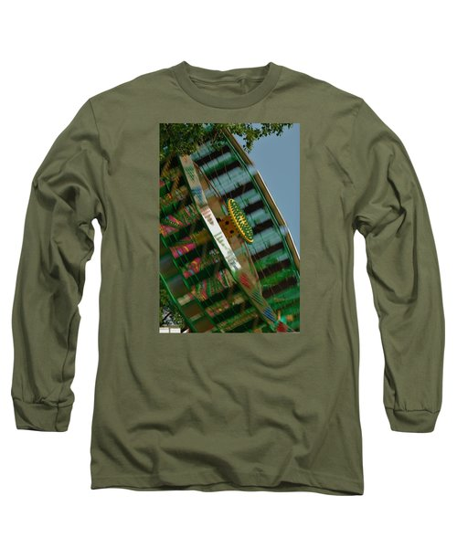 Long Sleeve T-Shirt featuring the photograph Faster And Faster We Go by Ramona Whiteaker