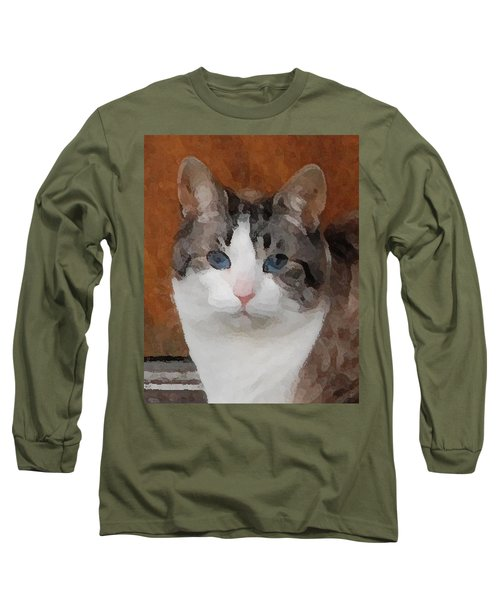Fat Cats Of Ballard 3 Long Sleeve T-Shirt