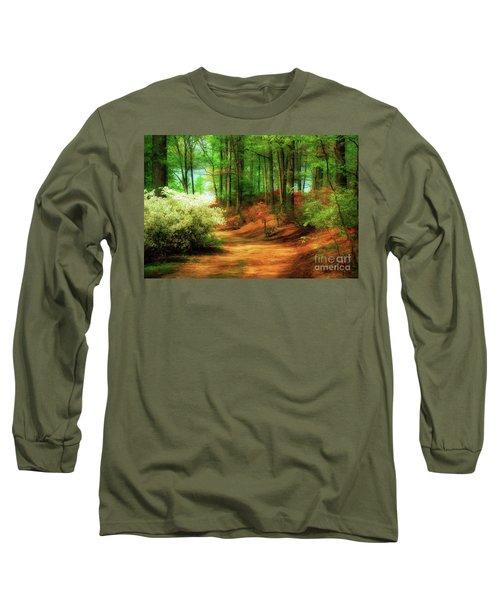 Favorite Path Long Sleeve T-Shirt by Lois Bryan