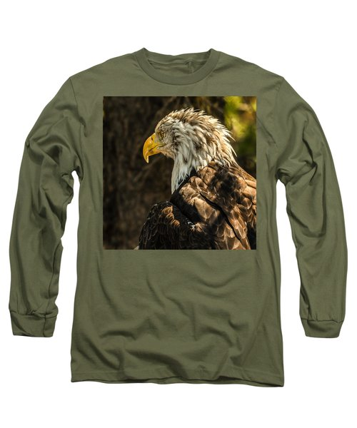 Long Sleeve T-Shirt featuring the photograph Feathers In Light by Yeates Photography