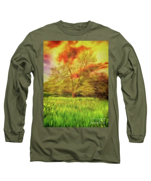 Long Sleeve T-Shirt featuring the photograph Feel The Love by Leigh Kemp