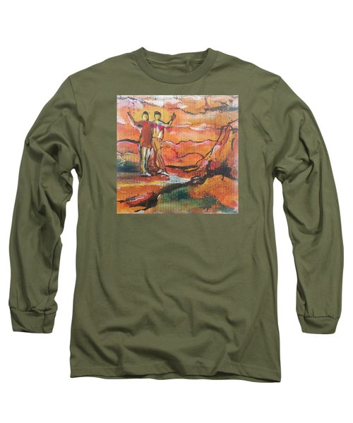 Feel The Warm Long Sleeve T-Shirt by Becky Chappell