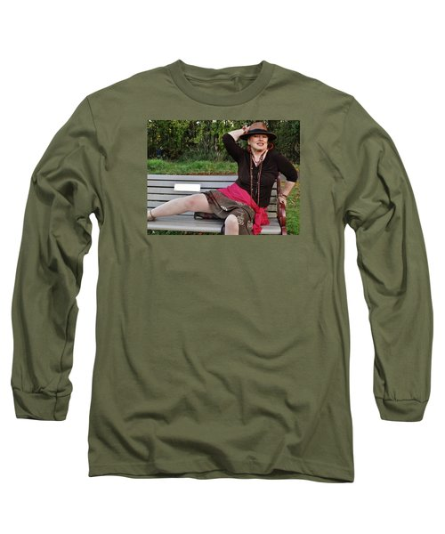 Feeling Jazzy In The Arts Park Long Sleeve T-Shirt