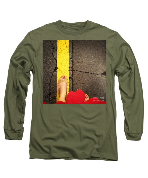 Feet Around The World #27 Long Sleeve T-Shirt