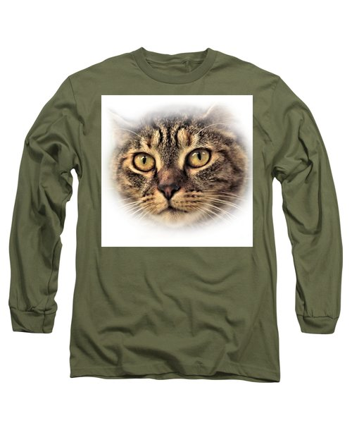 Long Sleeve T-Shirt featuring the photograph Feline by Debbie Stahre