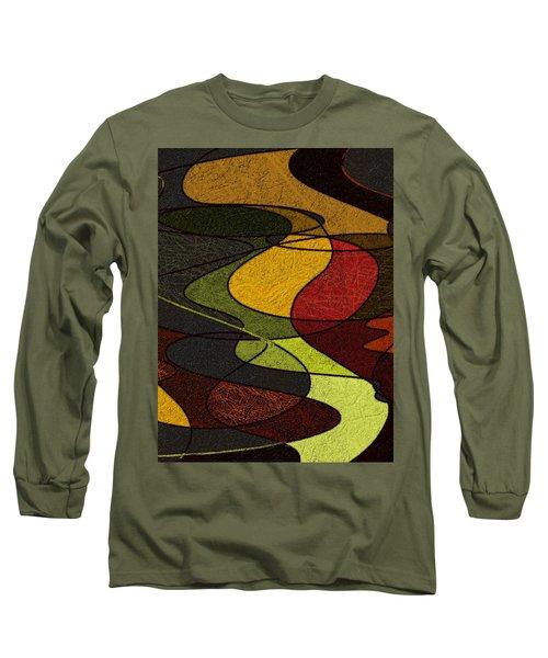 Long Sleeve T-Shirt featuring the digital art Felt by Constance Krejci