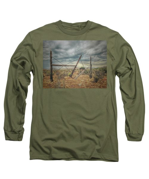 Fence Post Blues  Long Sleeve T-Shirt