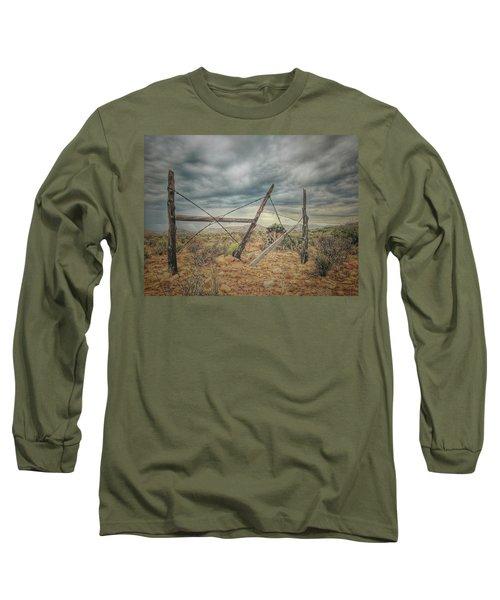 Fence Post Blues  Long Sleeve T-Shirt
