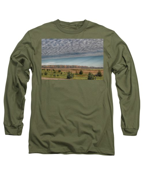 9017 - Fences, Firs And Fall Long Sleeve T-Shirt