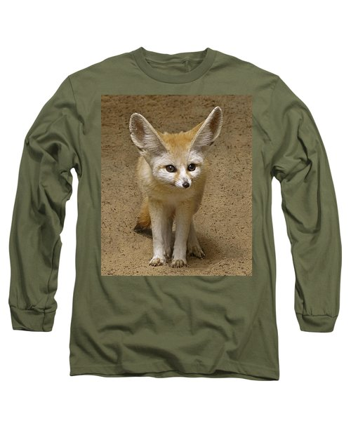 Fennec Fox Long Sleeve T-Shirt