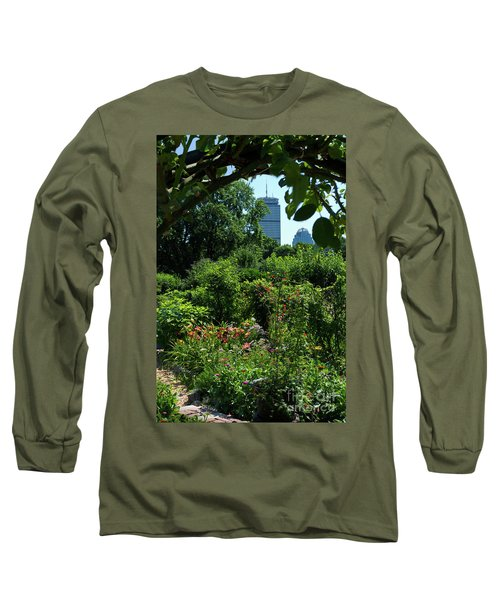 Fenway Victory Gardens In Boston Massachusetts  -30951-30952 Long Sleeve T-Shirt