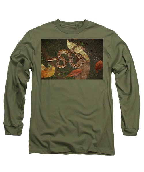 Fer-de-lance, Bothrops Asper Long Sleeve T-Shirt