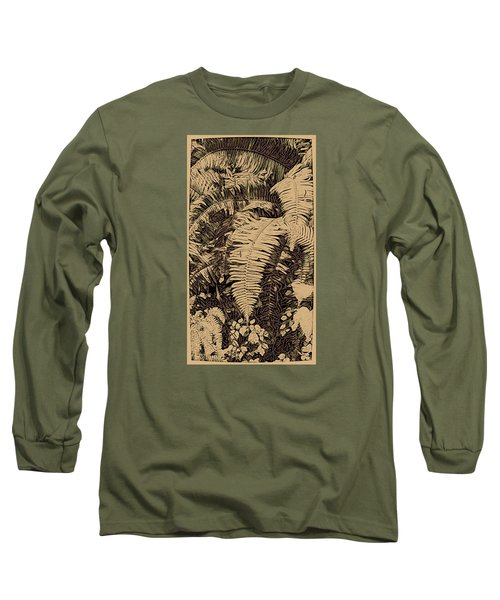 Fern Art No4 Long Sleeve T-Shirt