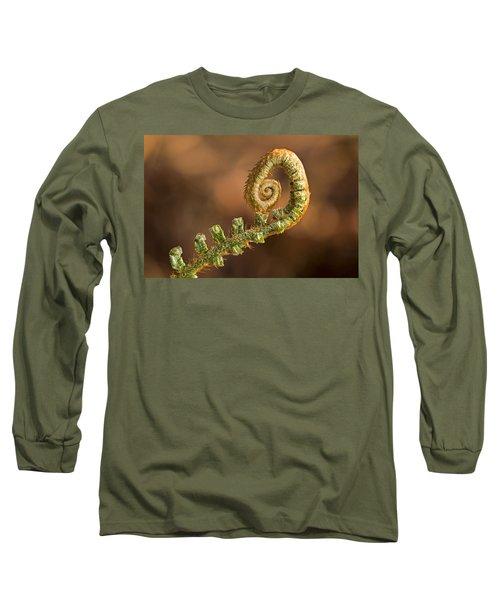 Fern Frond - 365-39 Long Sleeve T-Shirt by Inge Riis McDonald