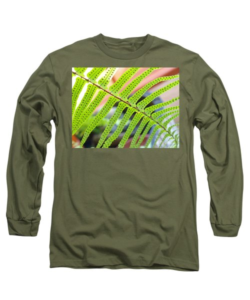Long Sleeve T-Shirt featuring the photograph Fern by Trena Mara