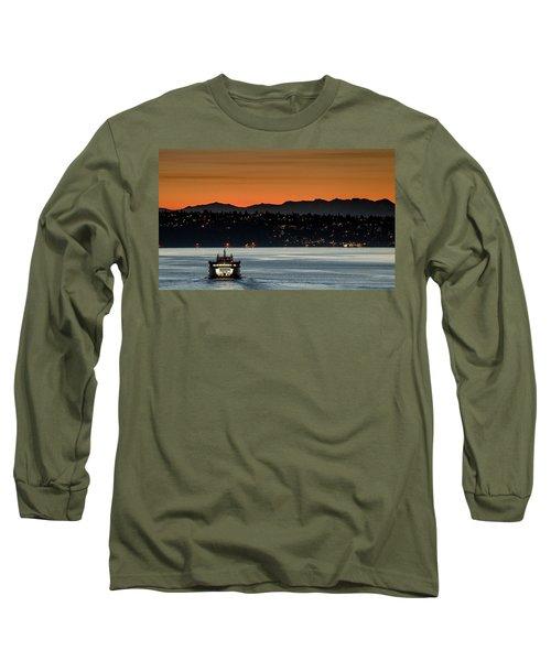 Ferry Sealth At Dawn Long Sleeve T-Shirt