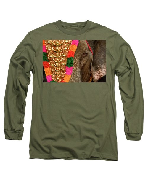 Festival Elephant Long Sleeve T-Shirt