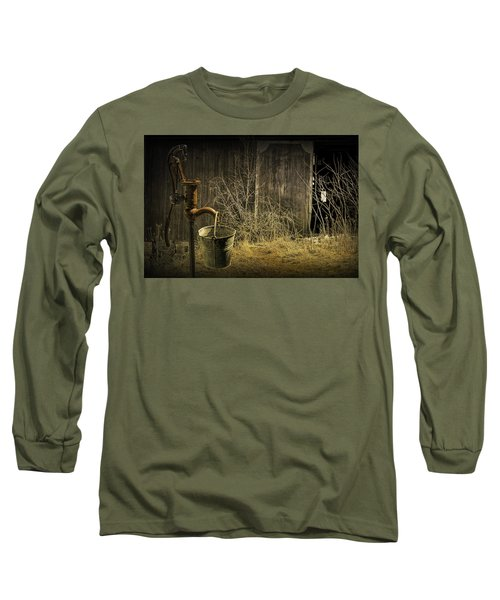 Fetching Water From The Old Pump Long Sleeve T-Shirt