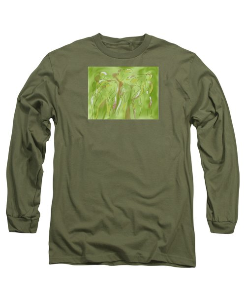 Few Figures Long Sleeve T-Shirt by Mary Armstrong