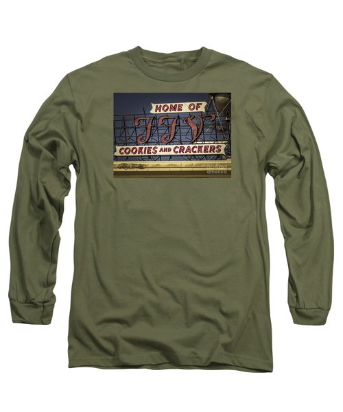 Long Sleeve T-Shirt featuring the photograph Ffv - Cookie And Cracker Factory by Melissa Messick