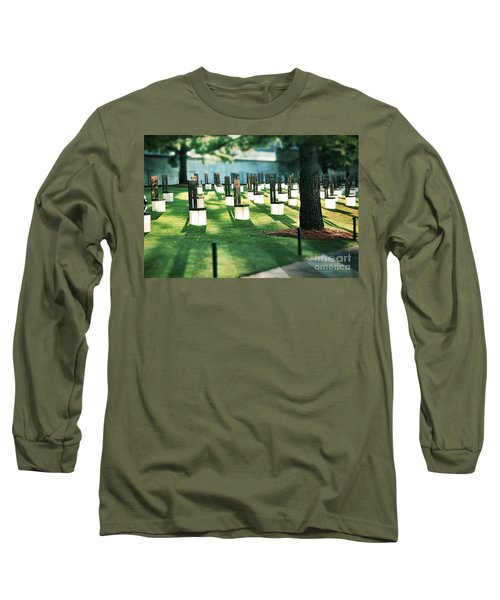 Field Of Empty Chairs Long Sleeve T-Shirt