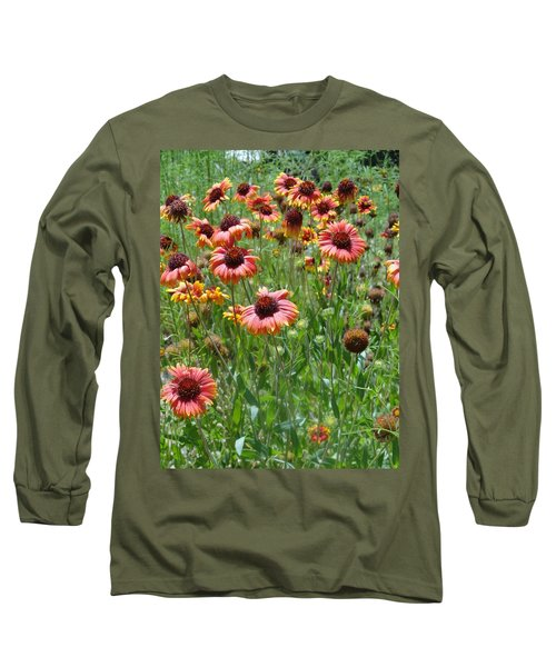 Field Of Flower Eyes Long Sleeve T-Shirt