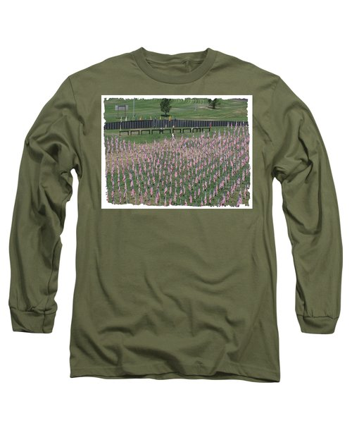Field Of Flags - Gotg Arial Long Sleeve T-Shirt