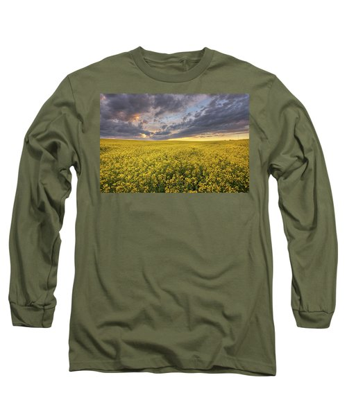 Long Sleeve T-Shirt featuring the photograph Field Of Gold by Dan Jurak