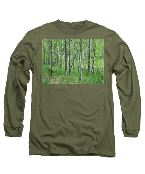 Field Of Teens Long Sleeve T-Shirt