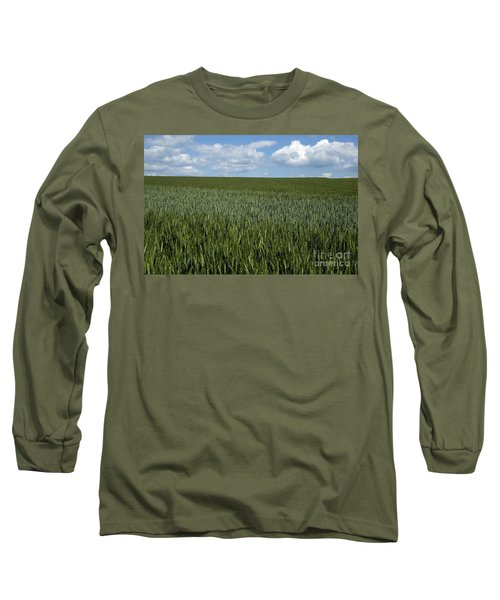 Field Of Wheat Long Sleeve T-Shirt