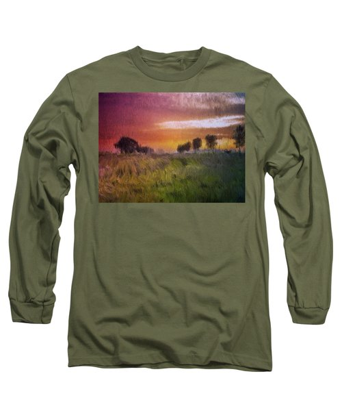 Fields Of Green Long Sleeve T-Shirt