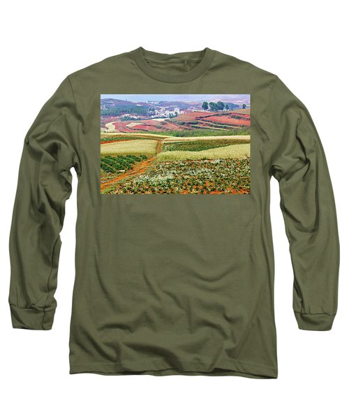 Fields Of The Redlands-1 Long Sleeve T-Shirt