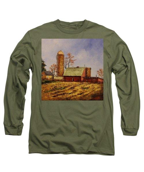 Fields Ready For Fall Long Sleeve T-Shirt