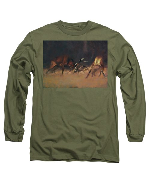 Fighting Stags I. Long Sleeve T-Shirt