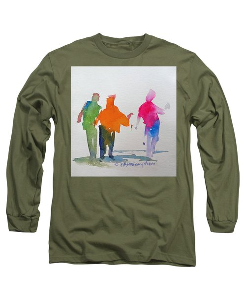 Figures In Motion  Long Sleeve T-Shirt