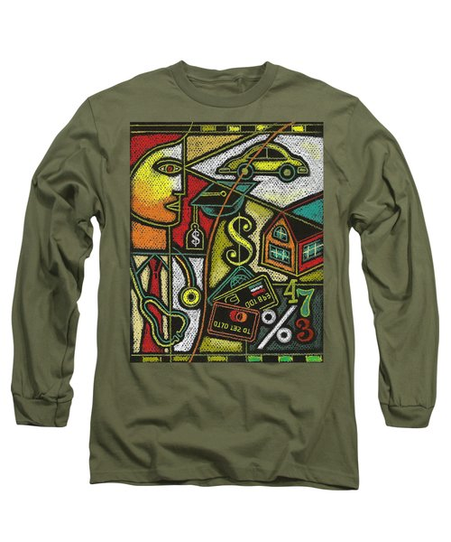 Finance And Medical Career Long Sleeve T-Shirt by Leon Zernitsky