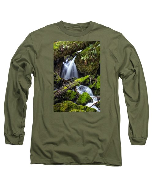 Finds A Way Long Sleeve T-Shirt by James Heckt
