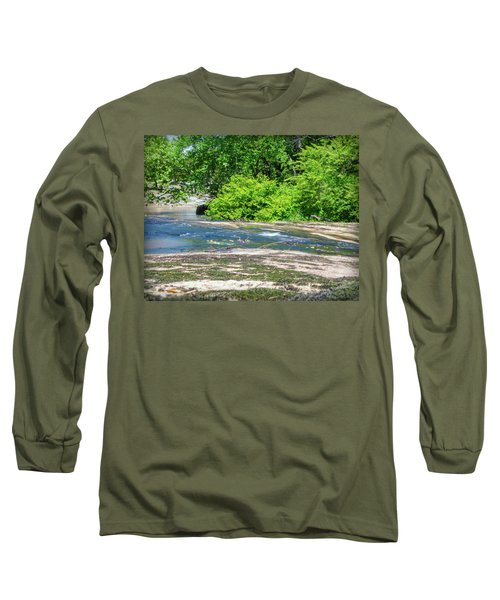 Fine Creek No. 3 Long Sleeve T-Shirt by Laura DAddona
