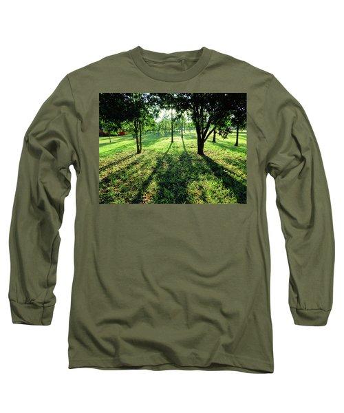 Long Sleeve T-Shirt featuring the photograph Fine Shadows by Beto Machado