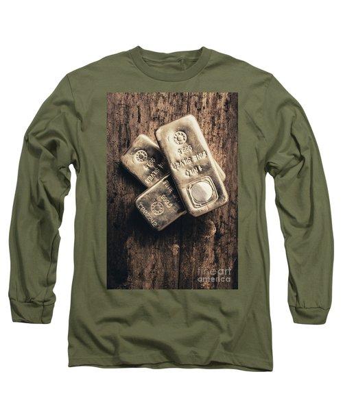 Fine Silver 999 Long Sleeve T-Shirt
