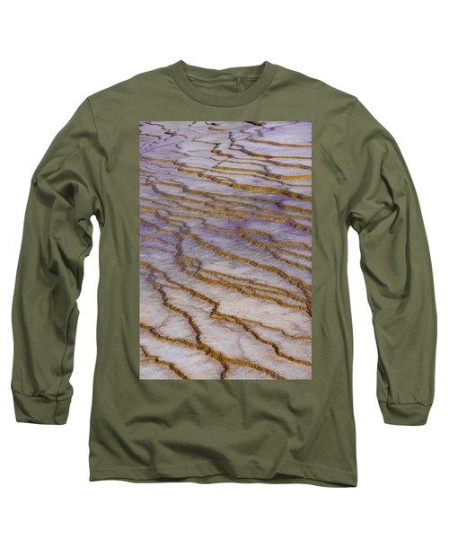 Fingerprint Of The Earth Long Sleeve T-Shirt