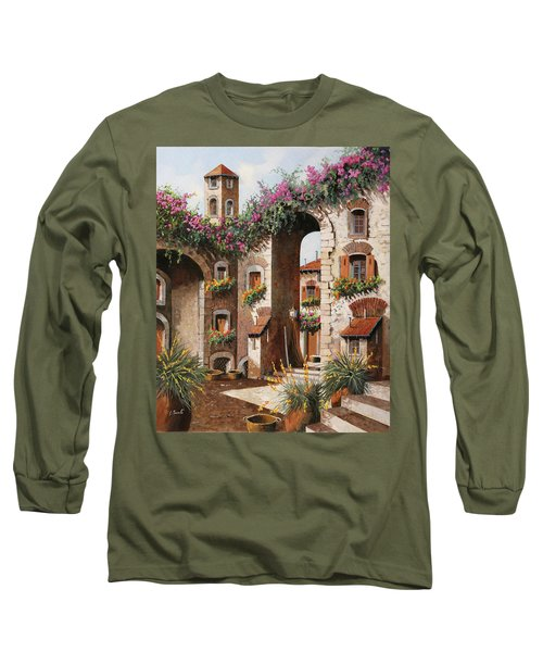 Fiori Gialli Sotto L'arco Long Sleeve T-Shirt