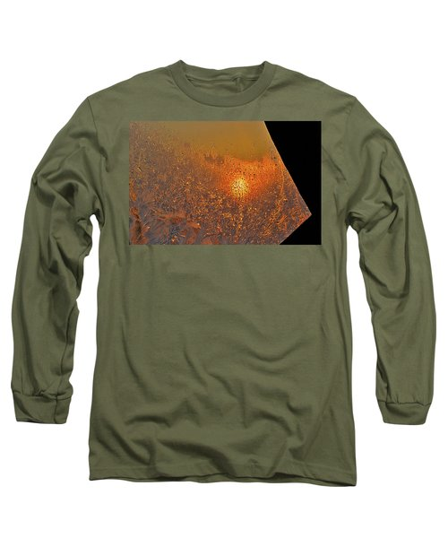 Long Sleeve T-Shirt featuring the photograph Fire And Ice by Susan Capuano