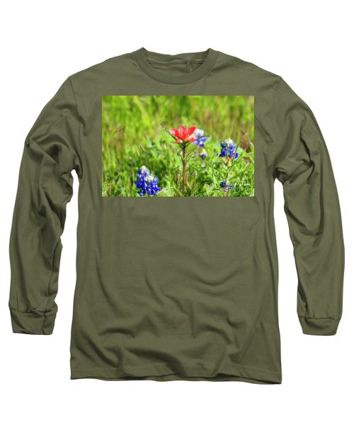 Fire Cracker Long Sleeve T-Shirt