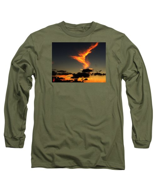 Early Evening Over Paros Island Long Sleeve T-Shirt