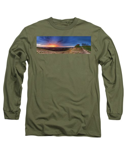 Fire On The West Side Long Sleeve T-Shirt