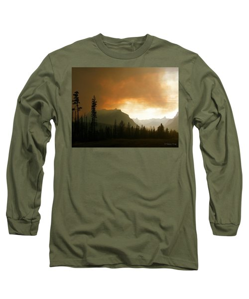 Fire Over St Mary Long Sleeve T-Shirt