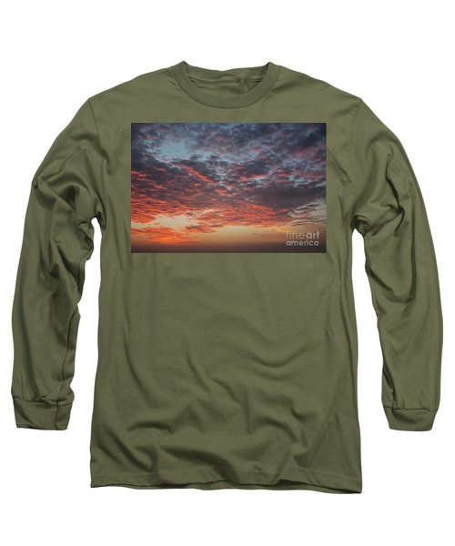 Fire Sky Long Sleeve T-Shirt by Ana Mireles