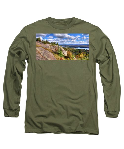 Fire Tower On Bald Mountain Long Sleeve T-Shirt